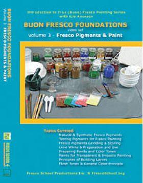 Buon Fresco Foundations: FRESCO PIGMENTS & PAINT