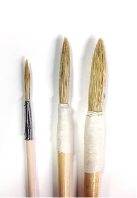 Premium Fresco Painting Brushes Set